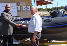 Nautic Group donates RHIB to seabird sanctuary